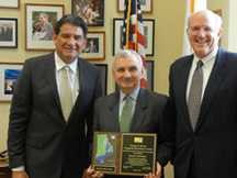 ASPRS Awards Senator Jack Reed with George E. Brown, Jr. Congressional Honor Award