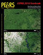 Cover of current issue of PE&RS